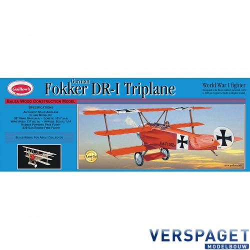 Fokker DR-1 Triplane kit 204