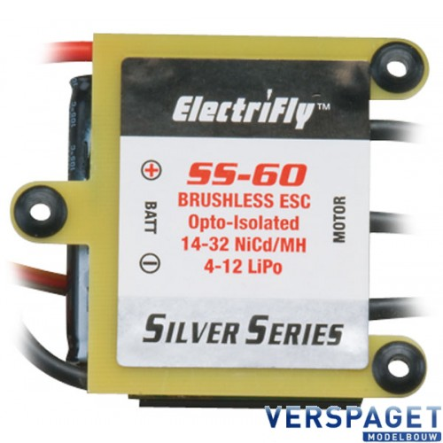Speed Controller Silver Series 60 Amp