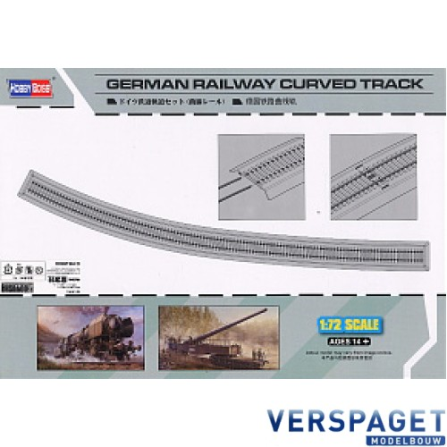 German Railway Curved Track-82910
