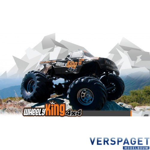 Wheely King RTR & Accupack & Lader