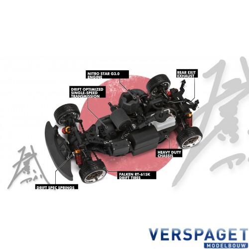 Discount Tire / Falken Tire Nissan S 13 Nitro RS4 EVO Drift