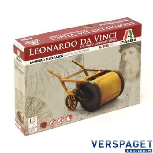 Leonardo Da Vinci Mechanical Drum