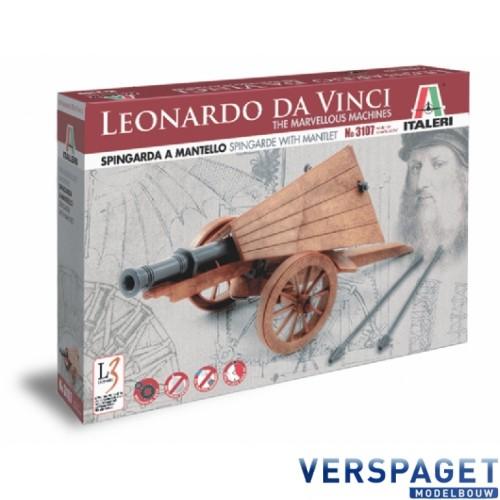 Leonardo Da Vinci Spingarda a mantello - Spingarde with mantlet