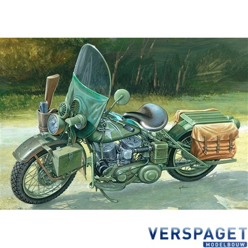 U.S. ARMY WW II MOTORCYCLE-7401