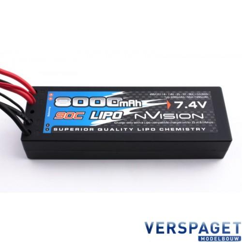 RC Car Lipo 7,4 Volt 8000 Mah