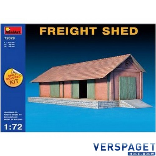 Freight Shed Model Kit-72029