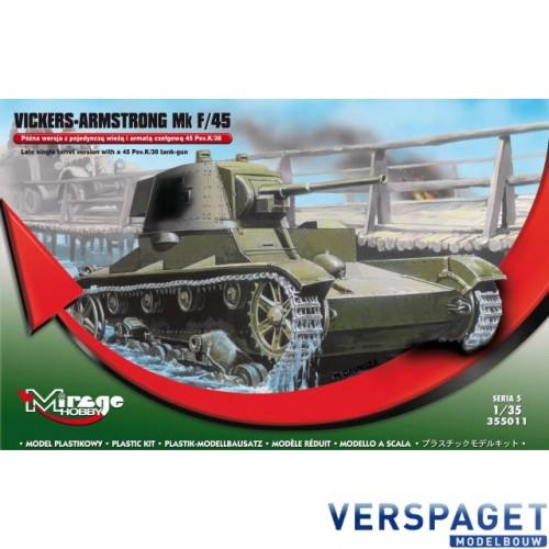 Vickers-ARMSTRONG VA mk F/45 Light Tank -355011