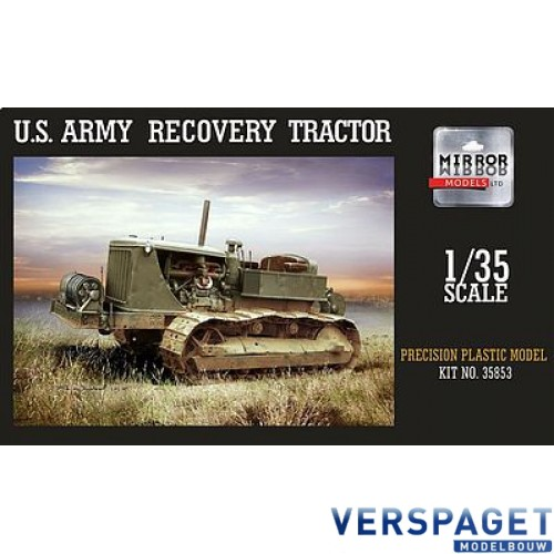US Army Military Recovery Tractor 35853