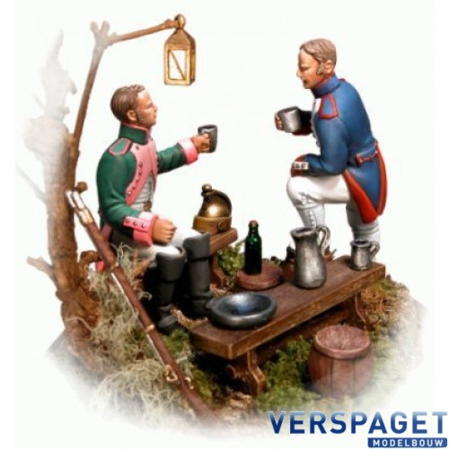 Campsite No.1: Figurines & Accessories Moulds -PA80-21
