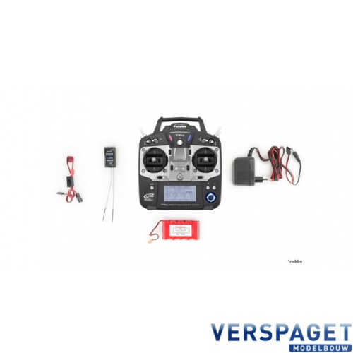 T10J Ontvanger R3008SB & Lipo Zenderaccu & Lader