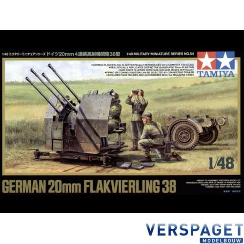 German -20mm Flakvierling -38 -32554