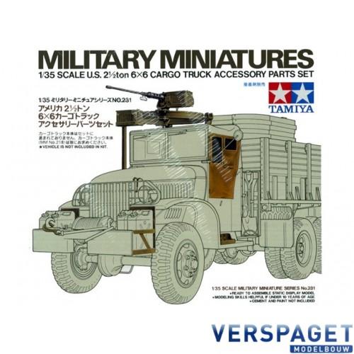 U.S. 2 1/2ton 6x6 Cargo Truck Accessory Parts Set 35231