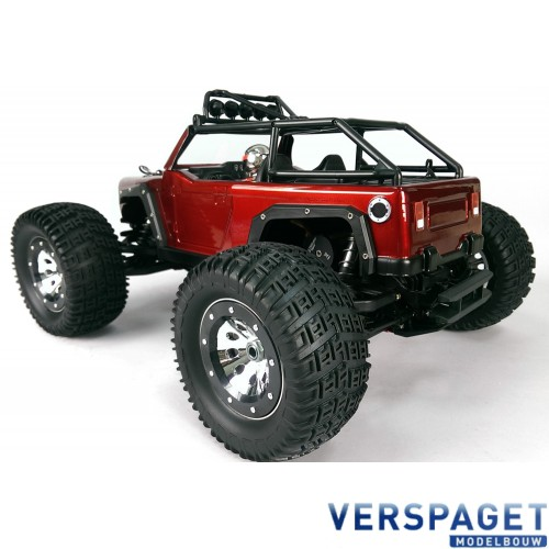 Kaiser MT4 Mid-Engine Monster Truck RTR & Soundmoduul
