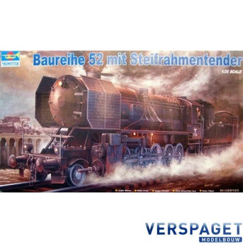 BR 52 mit Steifrahmentender -00210