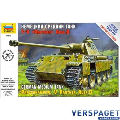 Geman Medium Tank Pz.Kpfw. V Panther Ausf.D Snap On -5010