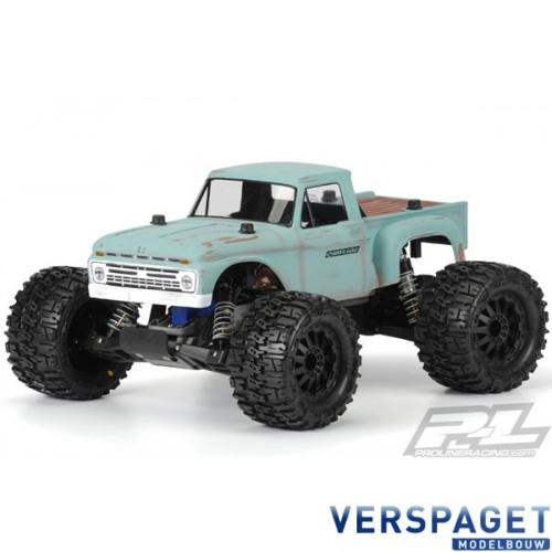 1966 FORD F-100 CLEAR BODY FOR TRAXXAS STAMPEDE -PR3412-00