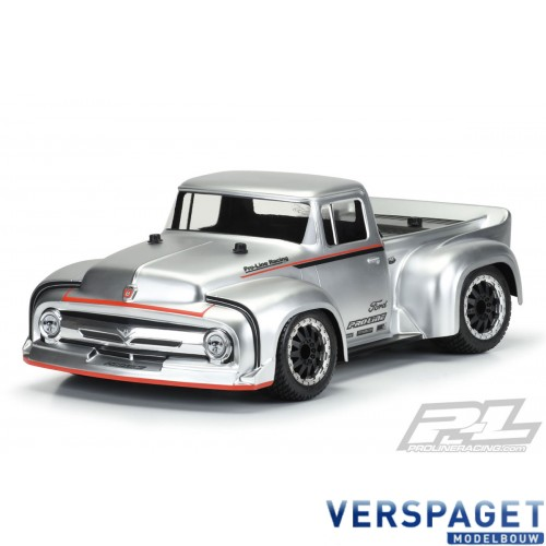 1956 FORD F100 TOURING STREET CLEAR SHELL (2.8 TYRE) -PR3514-00