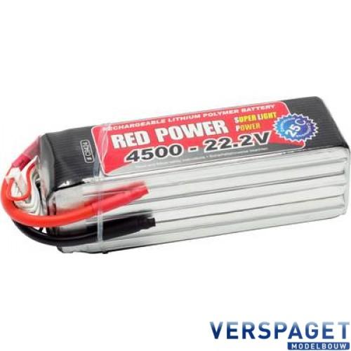 LiPo Accu 4500 - 22,2V -C9424