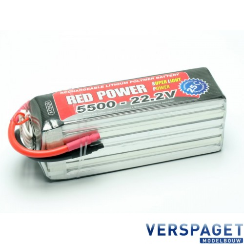 LiPo Accu 5500 - 22,2V -C9429