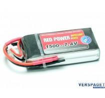 LiPo Accu 1500 - 7,4V -C9404