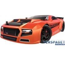 Thunder Drift Oranje Brushed 1:10 RC auto Elektro 4WD RTR 2,4 GHz -RC00031