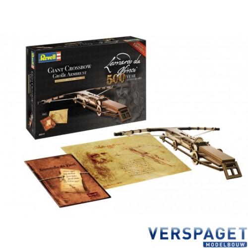 Leonardo da Vinci Giant Crossbow -00517