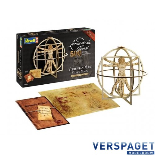 Leonardo da Vinci Vitruvian Man -00519