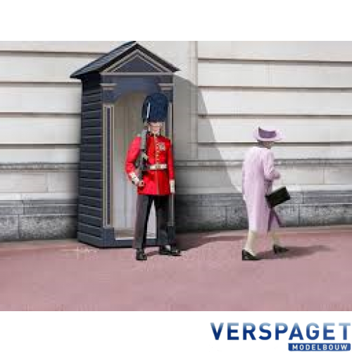British Queen's Guards Grenadier & Lijm & Verf & Penseeltje -62800