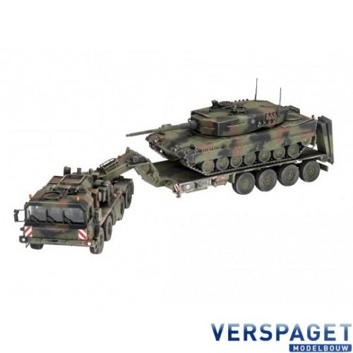 """SLT 50-3 """"Elefant"""" + Leopard 2A4 -03311"""
