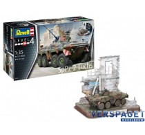 SpPz2 Luchs & 3D Puzzel Diorama -03321