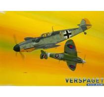 Combat Set Messerschmitt Bf109G-10 & Spitfire Mk.V -03710