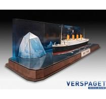 RMS Titanic + 3D Puzzle Ijsberg -05599