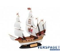 HMS Revenge Easy Click & Lijm & Verf & Penseeltje -65661