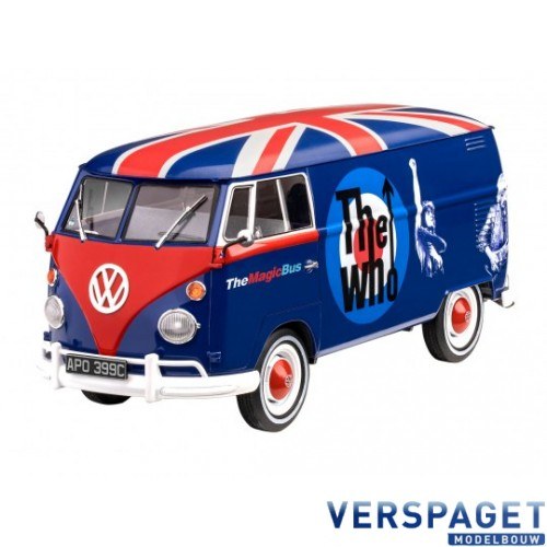 Geschenkset VW T1 The Who & Lijm & Verf & Penseeltje -05672