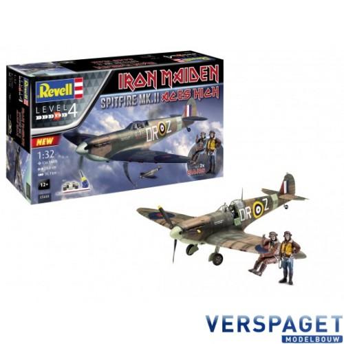 "Spitfire Mk.II ""Aces High"" Iron Maiden  & Verf & Lijm & Penseeltje -05688"