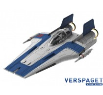 Resistance A-wing Fighter, blue Clic & Play  & Sound & Light -06773