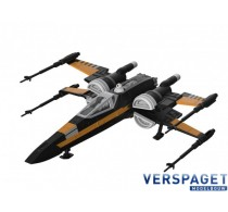 Poe's Boosted X-wing Fighter Clic & Play  & Sound & Light -06777