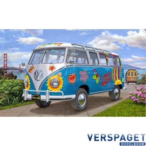 VW T1 Samba Bus Flower Power -07050