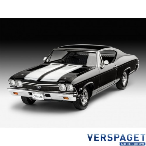 1968 Chevy Chevelle & Verf & Penseeltje & Lijm -67662