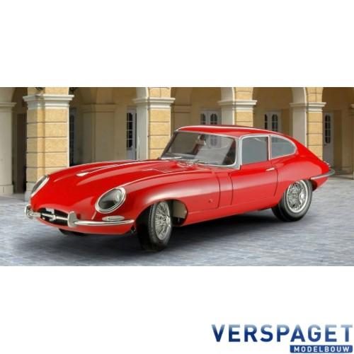 Jaguar E-Type Coupé Modelset & Verf & Lijm & Penseeltje -67668