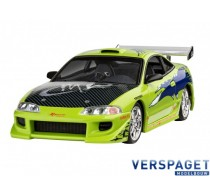 Fast & Furious Brian's 1995 Mitsubishi Eclipse & Verf & Lijm & penseeltje - 67691