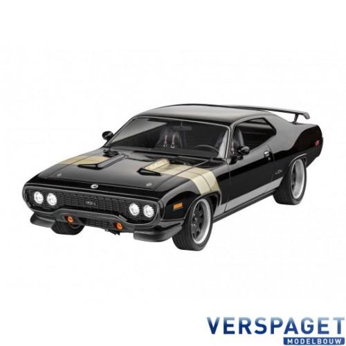 Fast & Furious - Dominic's 1971 Plymouth GTX & Verf & Lijm & penseeltje - 67692
