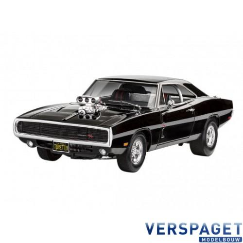 Fast & Furious - Dominics 1970 Dodge Charger & Verf & Lijm & penseeltje - 67693