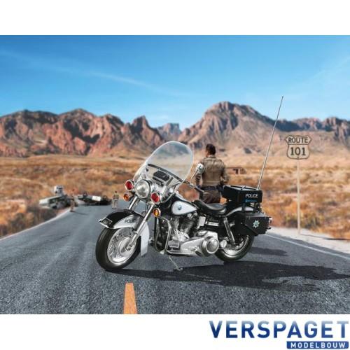 US Police Motorbike -02451