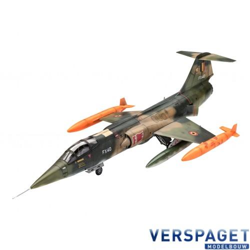 F-104 G Starfighter RNAF/BAF & Verf & Lijm & Penseeltje -63879