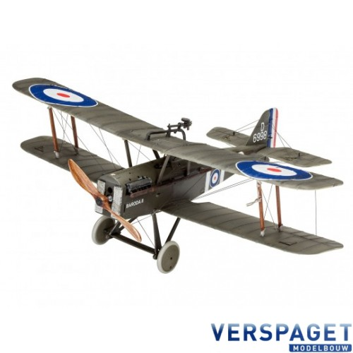 British S.E.5A & Verf & Lijm & Penseeltje -63907