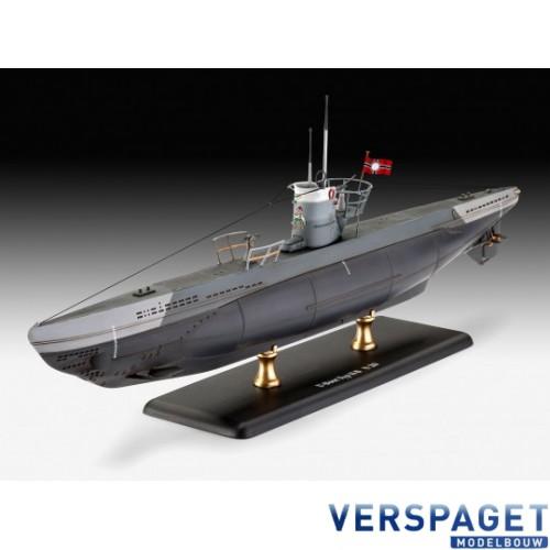 German Submarine Type IIB (1943) & Verf & Lijm & Penseeltje -65155