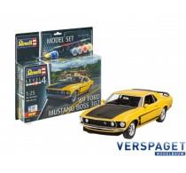 1969 Ford Mustang Boss  & Lijm & Verf & Penseeltje  -64952