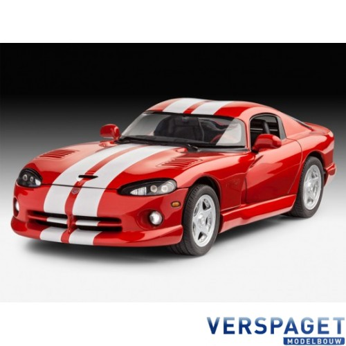 Dodge Viper GTS & Verf & Lijm & Penseeltje -67045