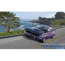 1970 Plymouth AAR Cuda  & Verf & Lijm & penseeltje -67664